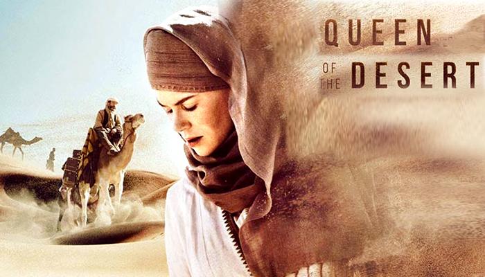 รีวิว QUEEN OF THE DESERT (2015) ตำนานรักแผ่นดินร้อน