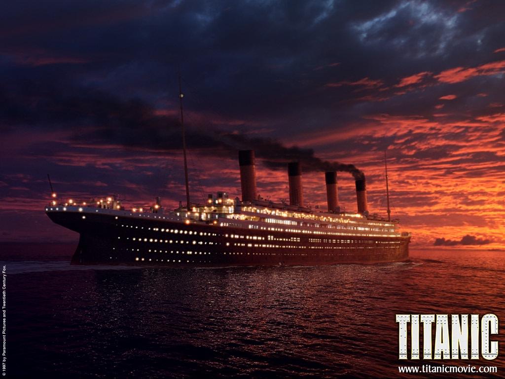 หนังรัก Titanic ไททานิค